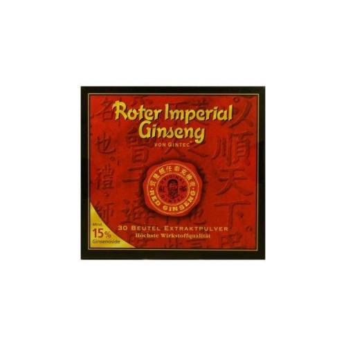 Gintec Europe Roter Imperial Ginseng Gintec Pulver