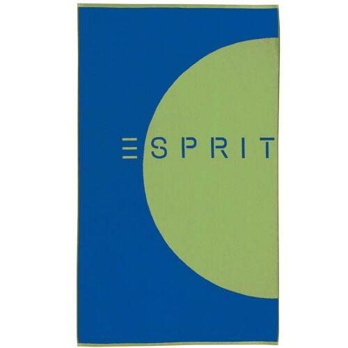 Esprit Esprit Strandtuch Circle Beach ocean blue - 002 100x180 cm