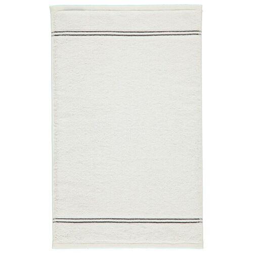 Cawö Nr. 600 - Weiß Gästehandtuch