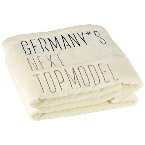 GNTM Kuscheldecke Decke