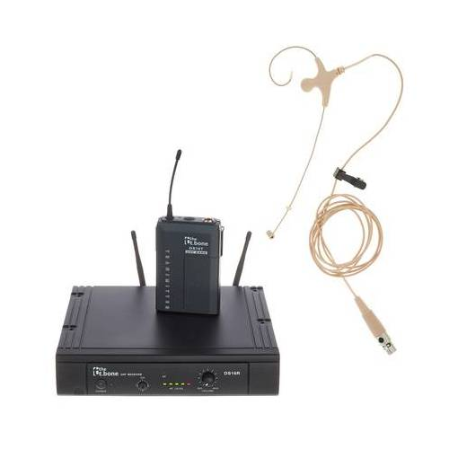 the t.bone TWS 16 EarmiKeD 863 MHz Set