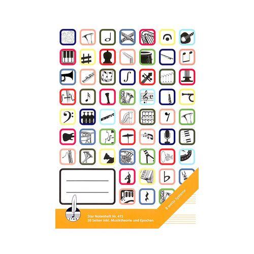 Star Notebook 415 A4