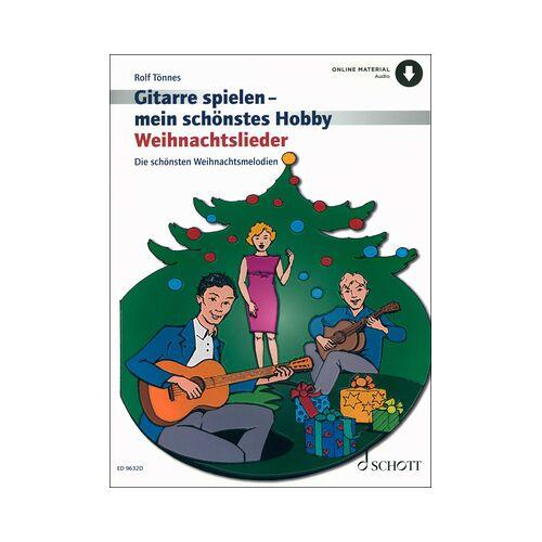 Schott Weihnachtslieder Gitarre Hobby