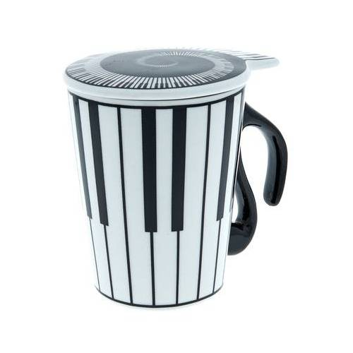 Musicwear Cup with Lid Keyboard