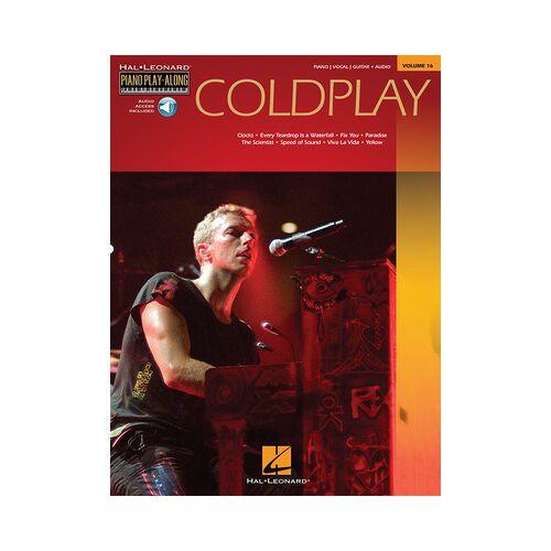 Hal Leonard Piano Play-Along Coldplay