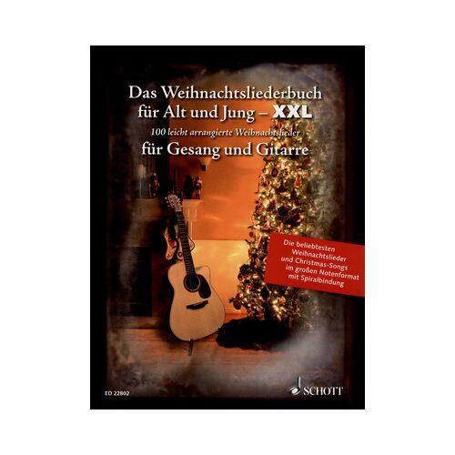 Schott Weihnachtslieder Gitarre XXL