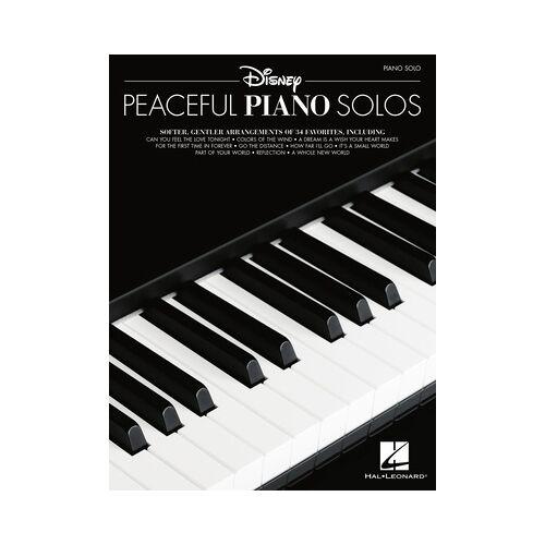Hal Leonard Disney Peaceful Piano Solos