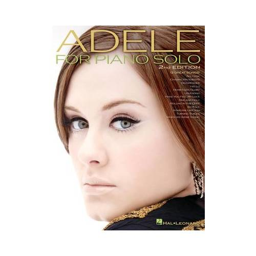 Hal Leonard Adele For Piano Solo