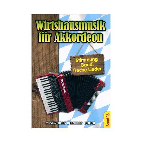 Musikverlag Geiger Wirtshausmusik Accordion 16