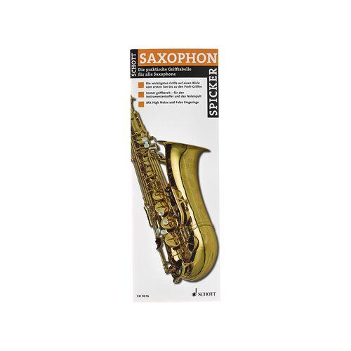 Schott Saxophon- Spicker