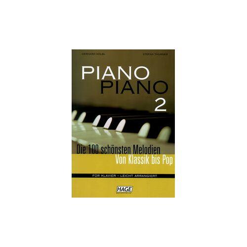 Hage Musikverlag Piano Piano 2 Easy