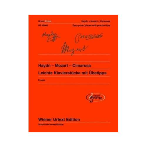 Wiener Urtext Edition Haydn Mozart Cimarosa Piano