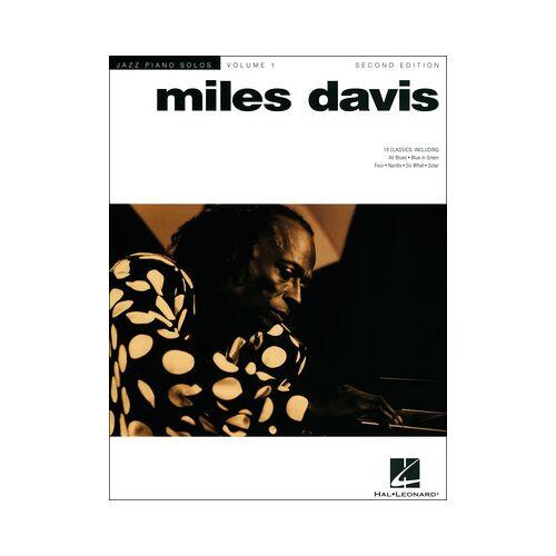 Hal Leonard Jazz Piano Solos Miles Davis