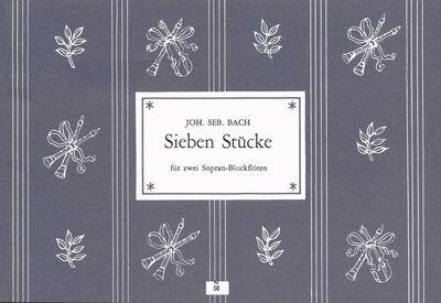 Heinrichshofen's Verlag Bach 7 Stücke 2 Blockflöten