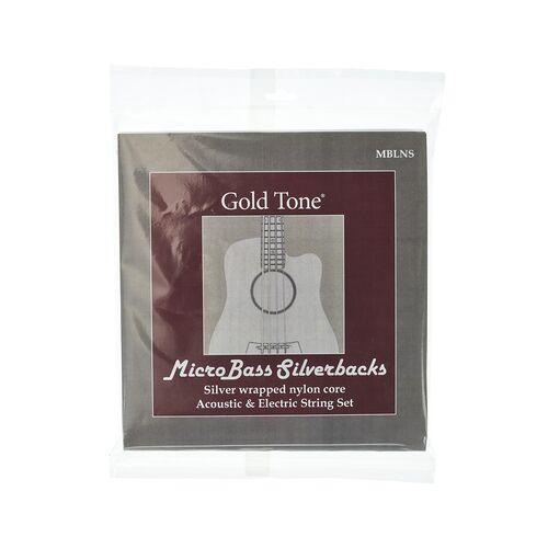 Gold Tone MBLNS Micro Bass String Set