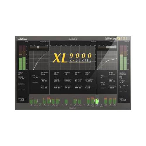 Softube SSL XL 9000 K for Console 1