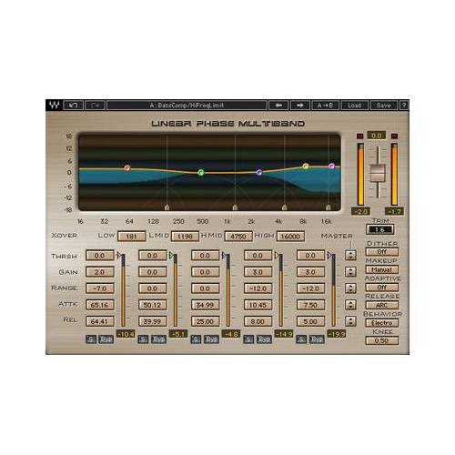 Waves Linear Phase Multiband Comp.