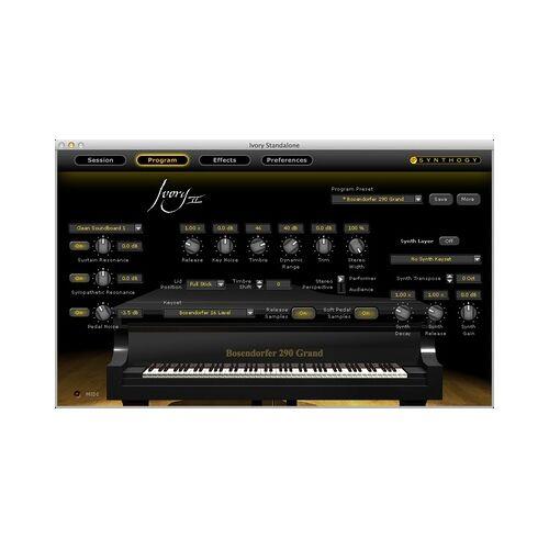 Synthogy Ivory II Grand Piano