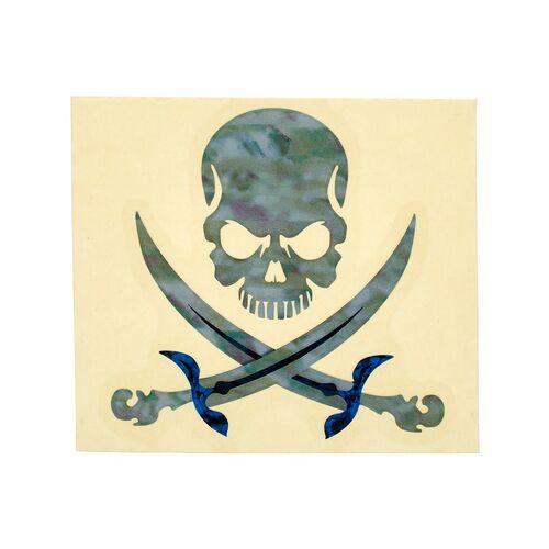 Jockomo Pirate Skull Sticker