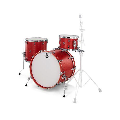 "British Drum Company Legend Series 22"""" Buckingham Buckingham Scarlett matt"