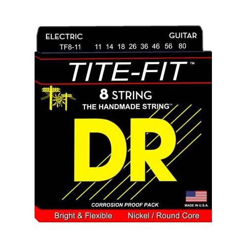 DR Strings Tite TF 8-11 8-String Set