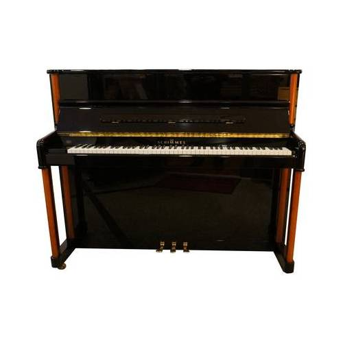Schimmel Piano used black/cherry