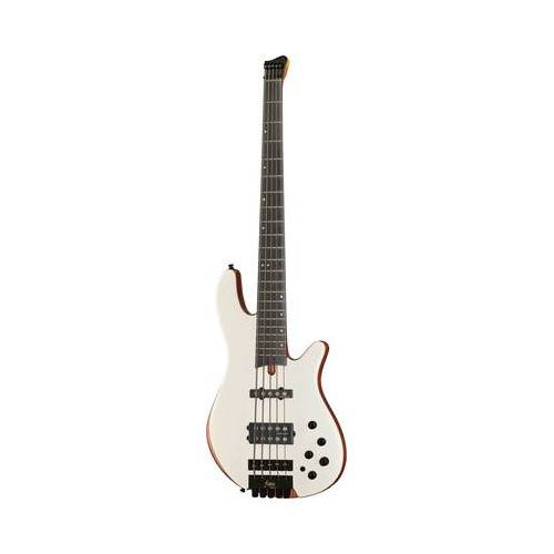 Franz Bassguitars Merak 5 Headless White