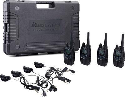 Midland G7 Pro Case Set 4 MKII Schwarz