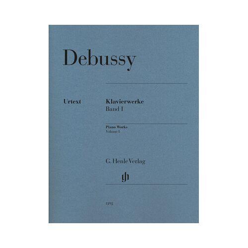 Henle Verlag Debussy Piano Works I