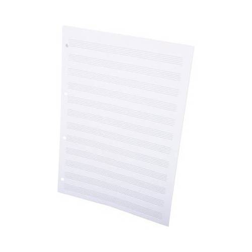 ge-gra-Muster Notenblätter DIN A4