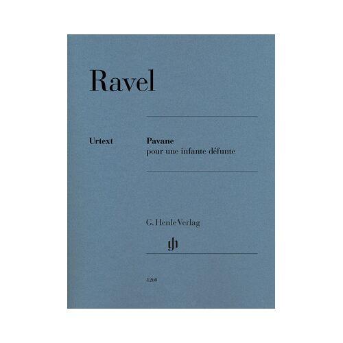 Henle Verlag Ravel Pavane Piano