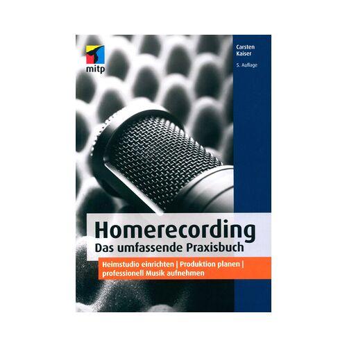 mitp Verlag Homerecording