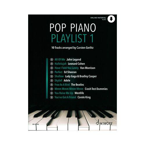 Schott Pop Piano Playlist 1