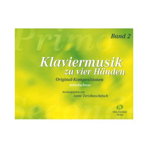 Holzschuh Verlag Klaviermusik zu vier Händen 2