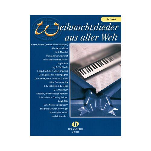 Holzschuh Verlag Weihnachtslieder Welt Keyboard