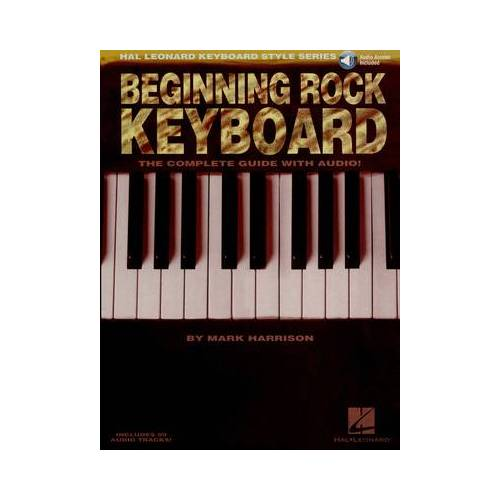 Hal Leonard Beginning Rock Keyboard