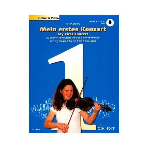Schott Mein erstes Konzert Violine