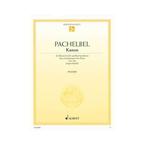 Schott Pachelbel Kanon Piano