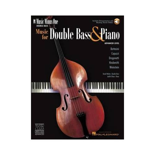 Music Minus One Music f. Double Bass and Piano