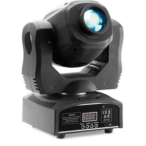 Stagg Gobo Moving-Head mit 60-Watt COB LED, 7 Farben, 7 Gobos