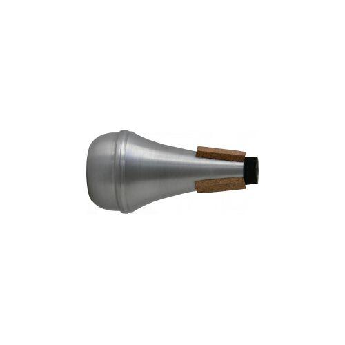 Steinbach Dämpfer für Trompete Straight Effektdämpfer aus Aluminium Trompetendämpfer Straightdämpfer Effektdämpfer Trompete Dämpfer