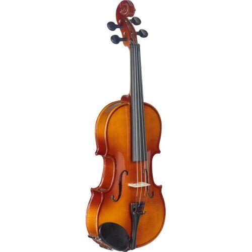 Stagg VL-1/4 Violinenset 1/4 Ahorn massiv mit Softcase Orangebraun