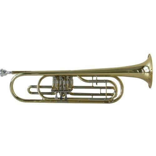 Steinbach Basstrompete Bb Stimmung in Lederkoffer STRB-100
