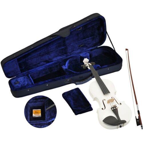 Steinbach 1/2 Geige im SET weiß handgearbeitet