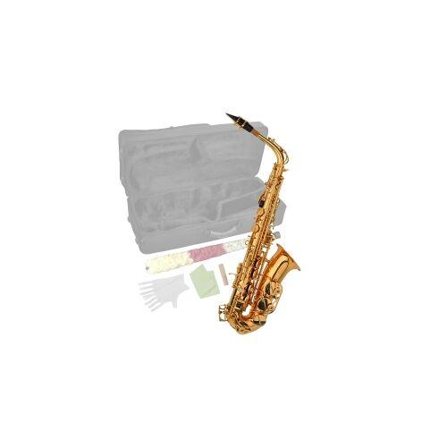 Steinbach Eb Alt-Saxophon in Messing mit hohem FIS Saxophone Altsaxophon Altsax Altsaxofon Alt Saxophon Einsteiger Anfänger Alt Anfänger Saxophon