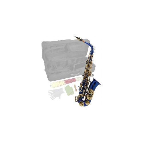Steinbach Eb Alt-Saxophon in Blau mit hohem FIS Steinbach Saxophone Blasinstrument Alt Saxophon Stagg Einsteiger Anfänger Alt