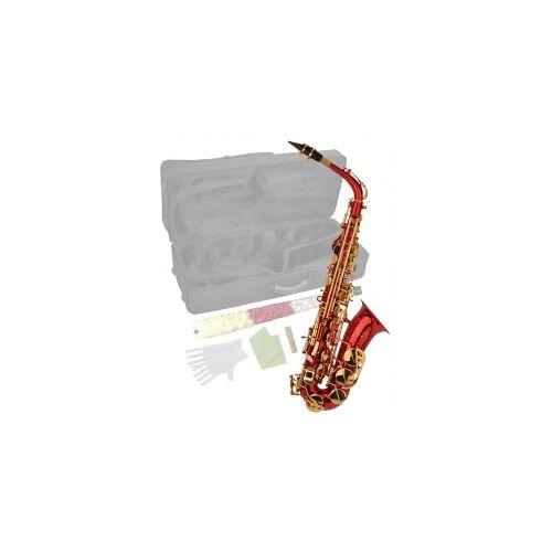 Steinbach Eb Alt-Saxophon in Rot mit hohem FIS Steinbach Saxophone Blasinstrument Alt Saxophon Stagg Einsteiger Anfänger Alt