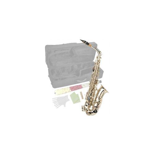 Steinbach Eb Alt-Saxophon in Silber mit hohem FIS Steinbach Saxophone Blasinstrument Alt Saxophon Stagg Einsteiger Anfänger Alt