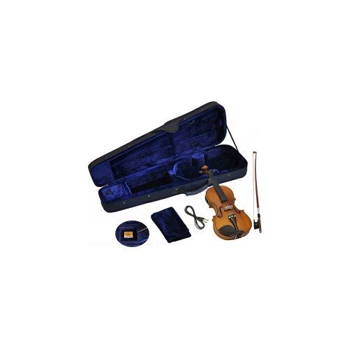 Steinbach 4/4 Geige semiakustisch mit Tonabnehmer SV-SEMI-44 Geige mit Tonabnehmer Halbakustische Geige Semiakustische Geige Semiakustische Violine Halbakustische Violine Violine Tonabnehmer Geige verstärkt