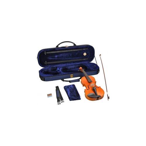 Steinbach 4/4 Geige im SET Ebenholzgarnitur wunderschön geflammt 4/4 Steinbach Geigenset Geige Violine geflammt geflammter Boden Geigenset Violinenset4/4 Steinbach Geige im SET Violine